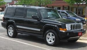 jeep commander pictures