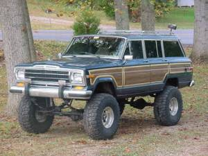 jeep grand wagoneer pictures