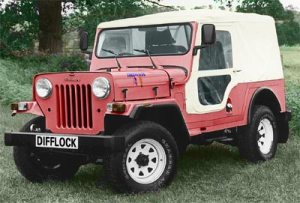 mahindra jeep pictures
