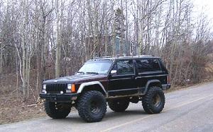 Lifted Jeep Cherokee Photos
